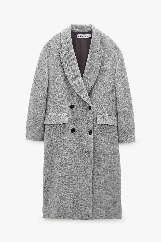Image 2 of OVERSIZED COAT from Zara