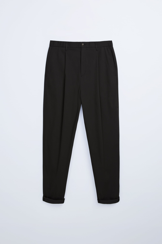 wide leg trousers men