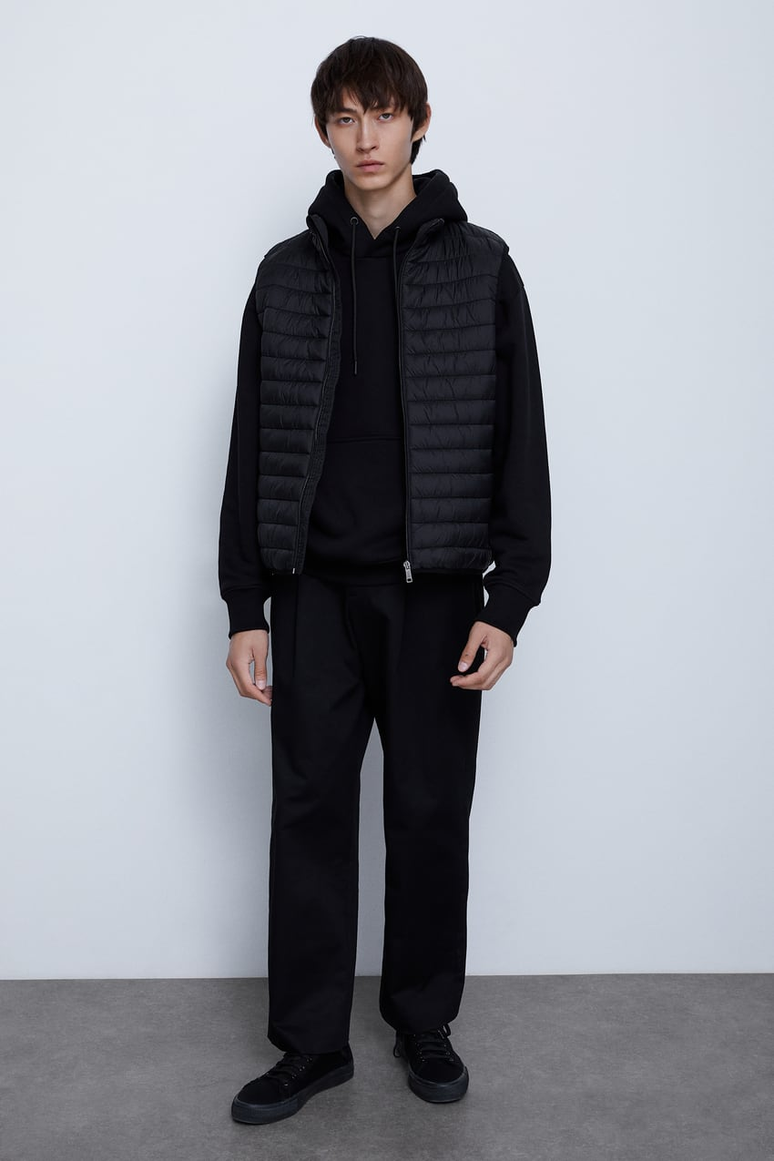 Image 1 of LIGHTWEIGHT PUFFER GILET from Zara