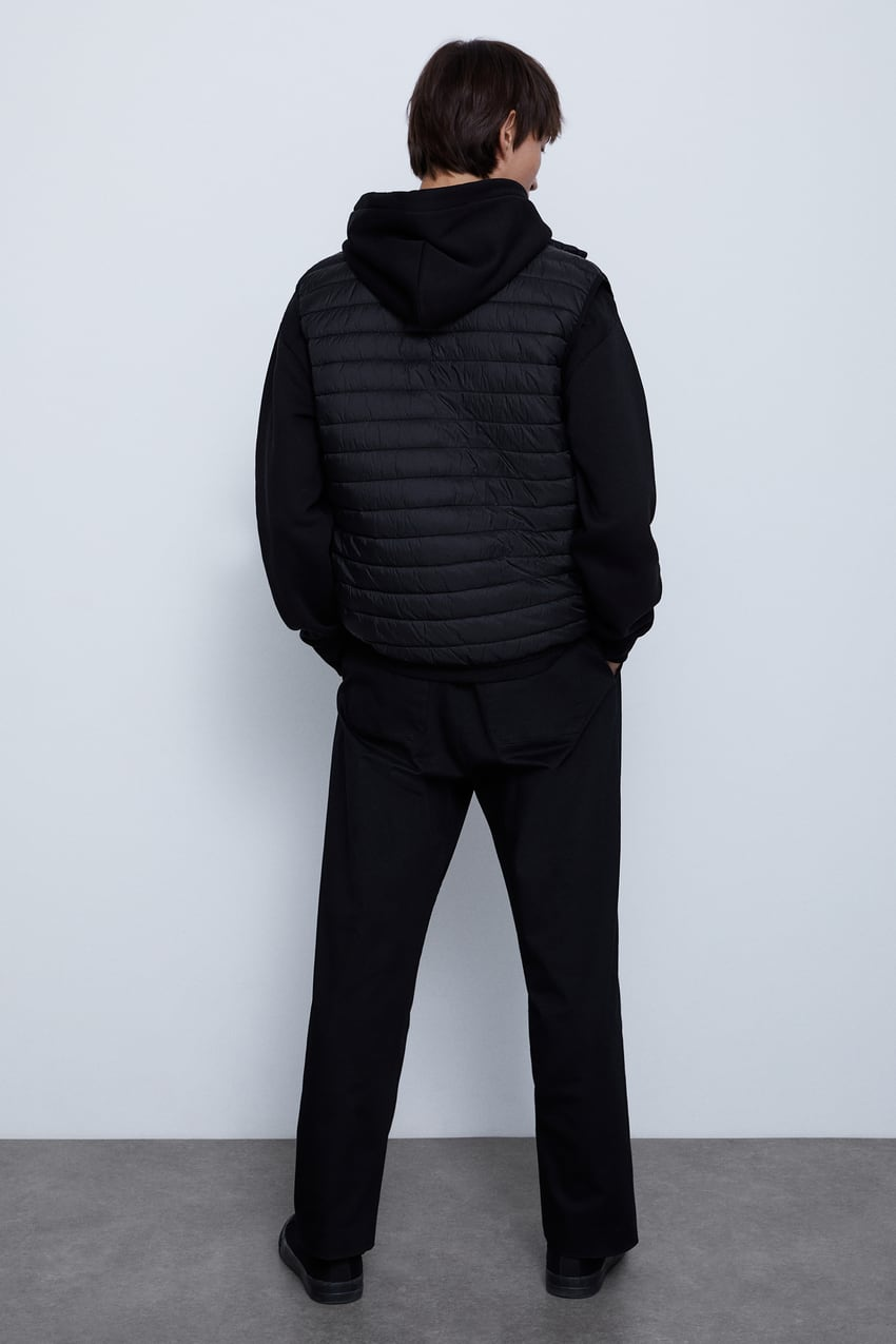 Image 3 of LIGHTWEIGHT PUFFER GILET from Zara