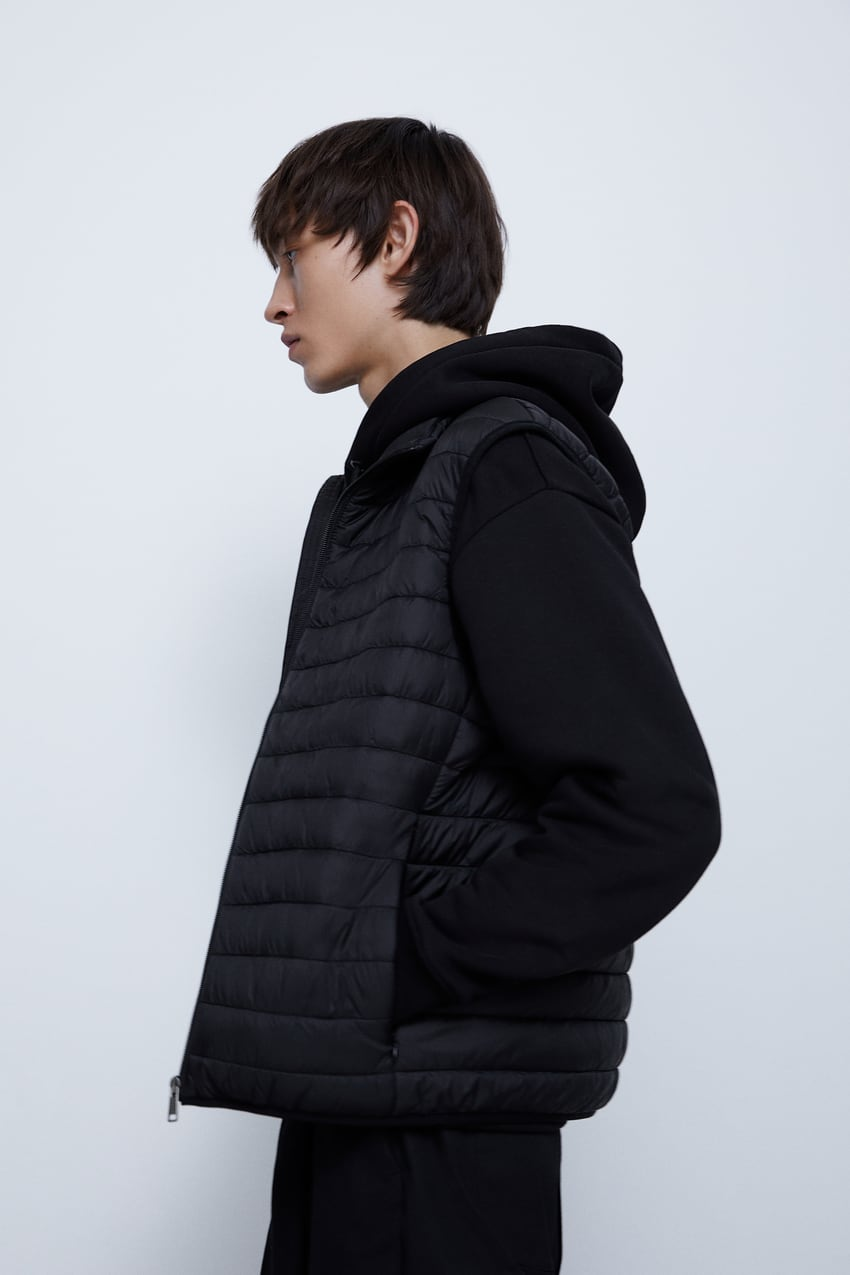 Image 5 of LIGHTWEIGHT PUFFER GILET from Zara