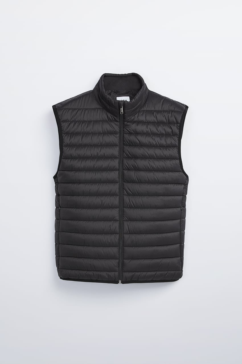 Image 7 of LIGHTWEIGHT PUFFER GILET from Zara