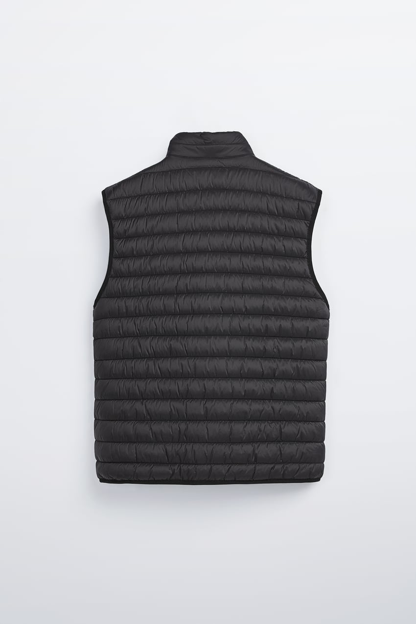 Image 8 of LIGHTWEIGHT PUFFER GILET from Zara