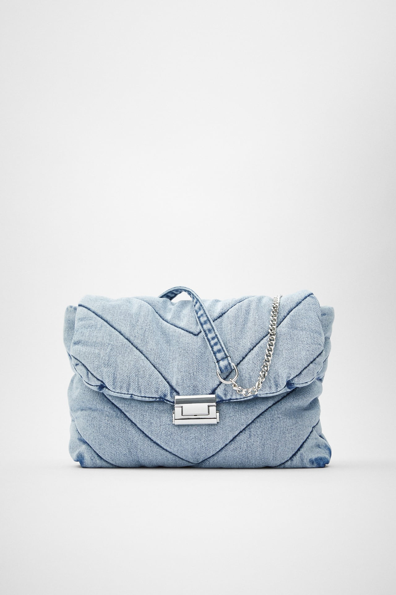 Image 1 of QUILTED MAXI CROSSBODY BAG from Zara