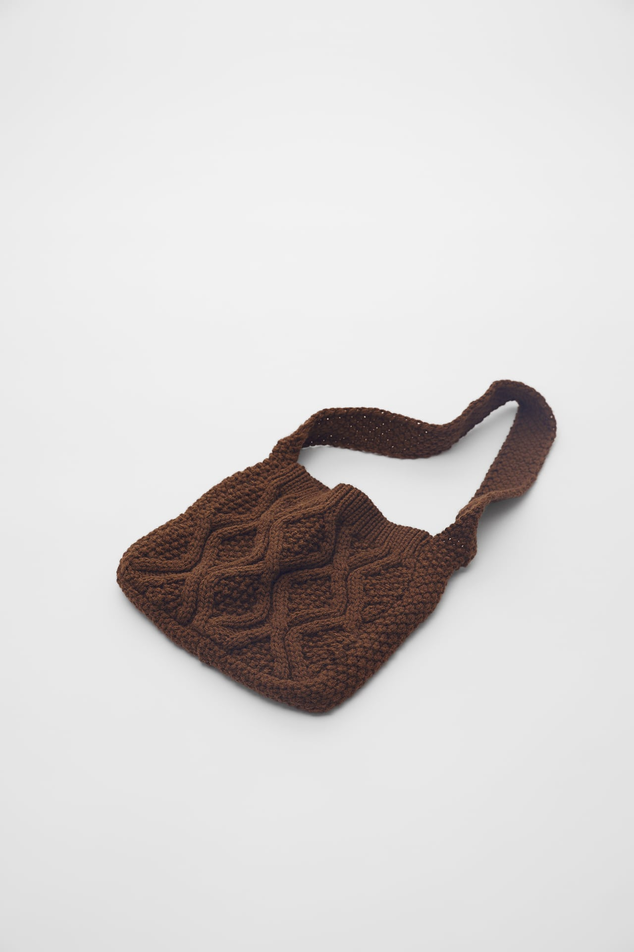 KNITTED CROSSBODY BAG