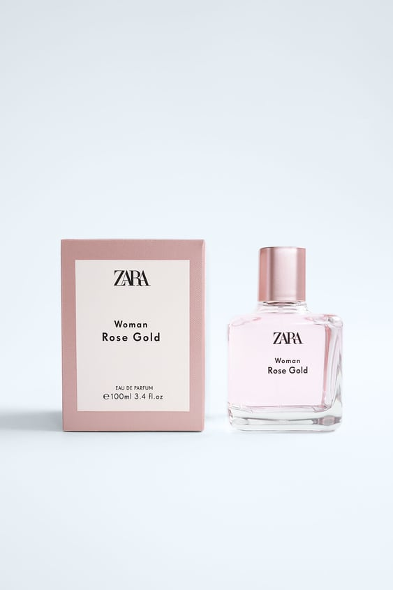 zara zara woman rose gold
