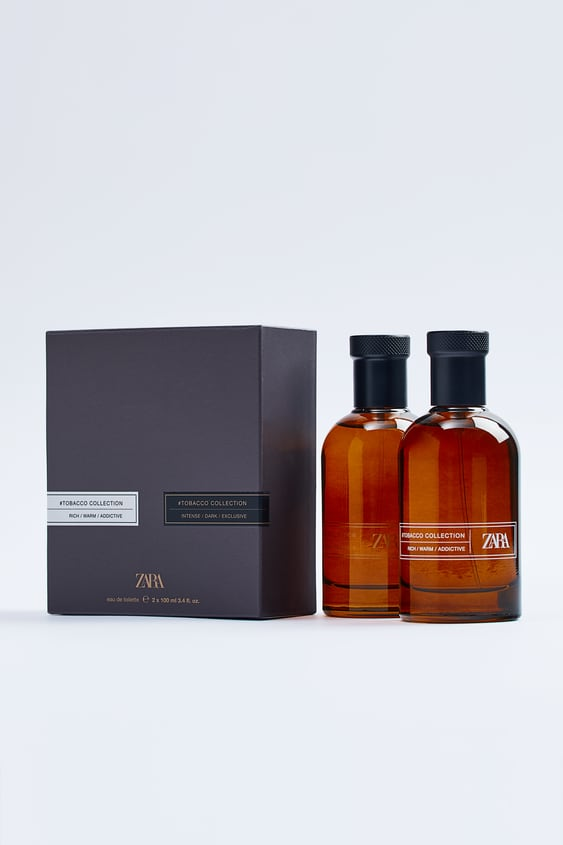 zara #tobacco collection - intense/dark/exclusive