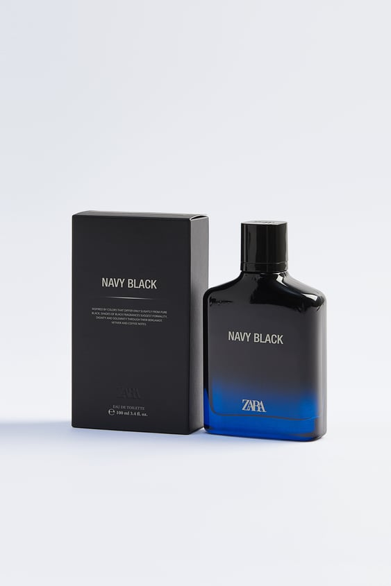 zara navy black