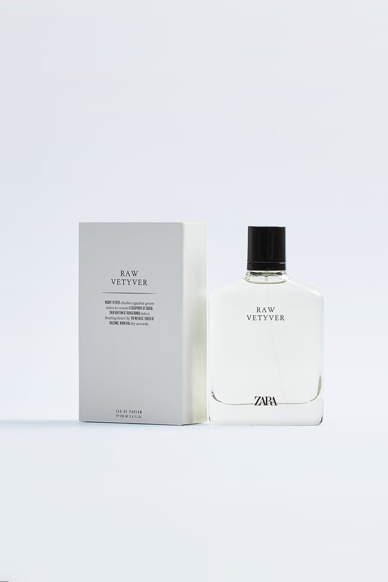 zara raw vetiver