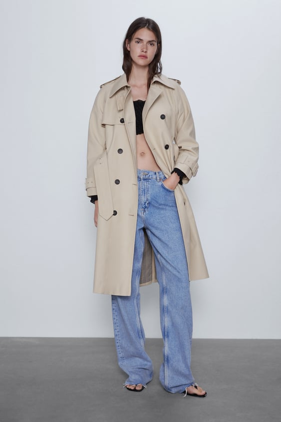 TRENCH COAT WITH BELT.