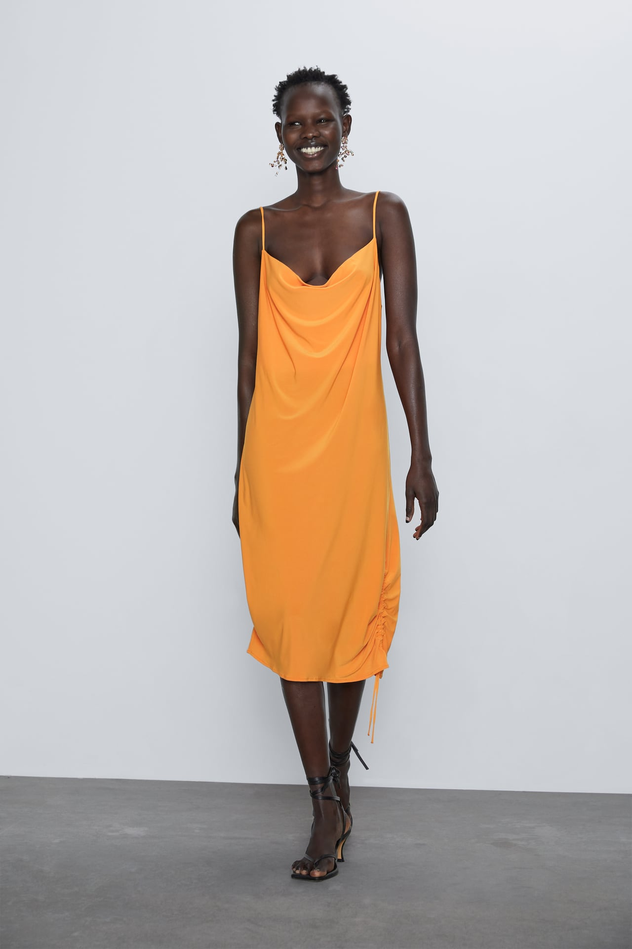 Image 1 of STRAPPY CAMISOLE DRESS from Zara