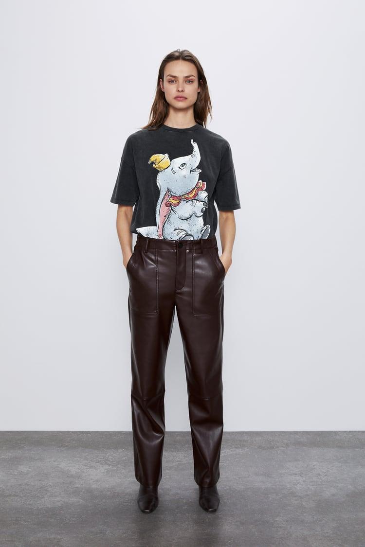 tee shirt femme disney zara