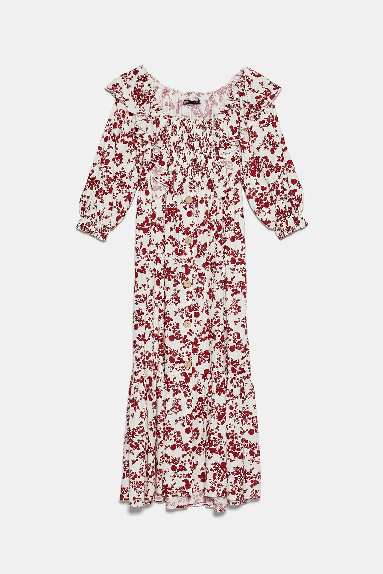 Image 8 of RUSTIC PRINTED DRESS from Zara
