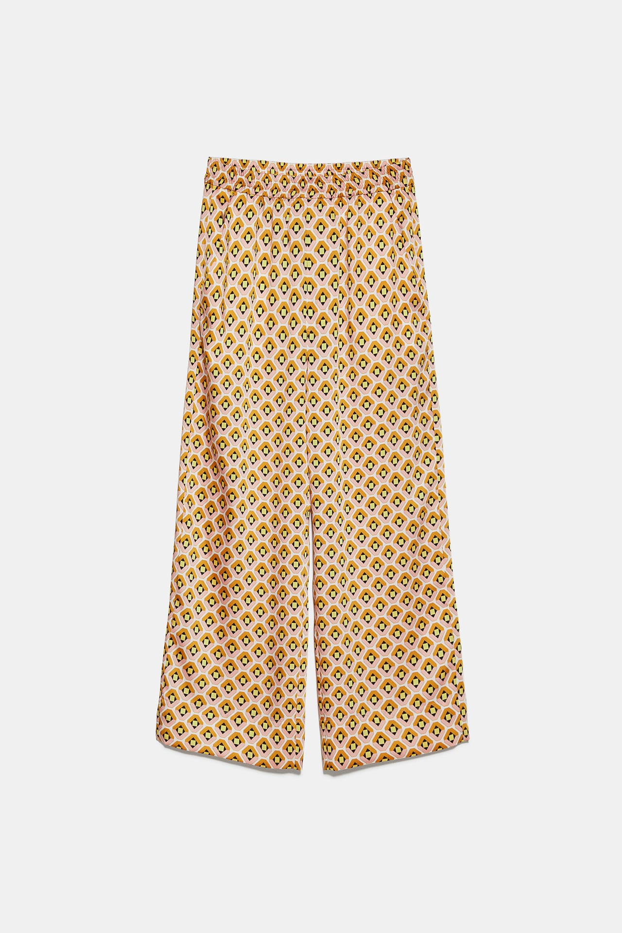Image 1 of GEOMETRIC PRINT TROUSERS from Zadar