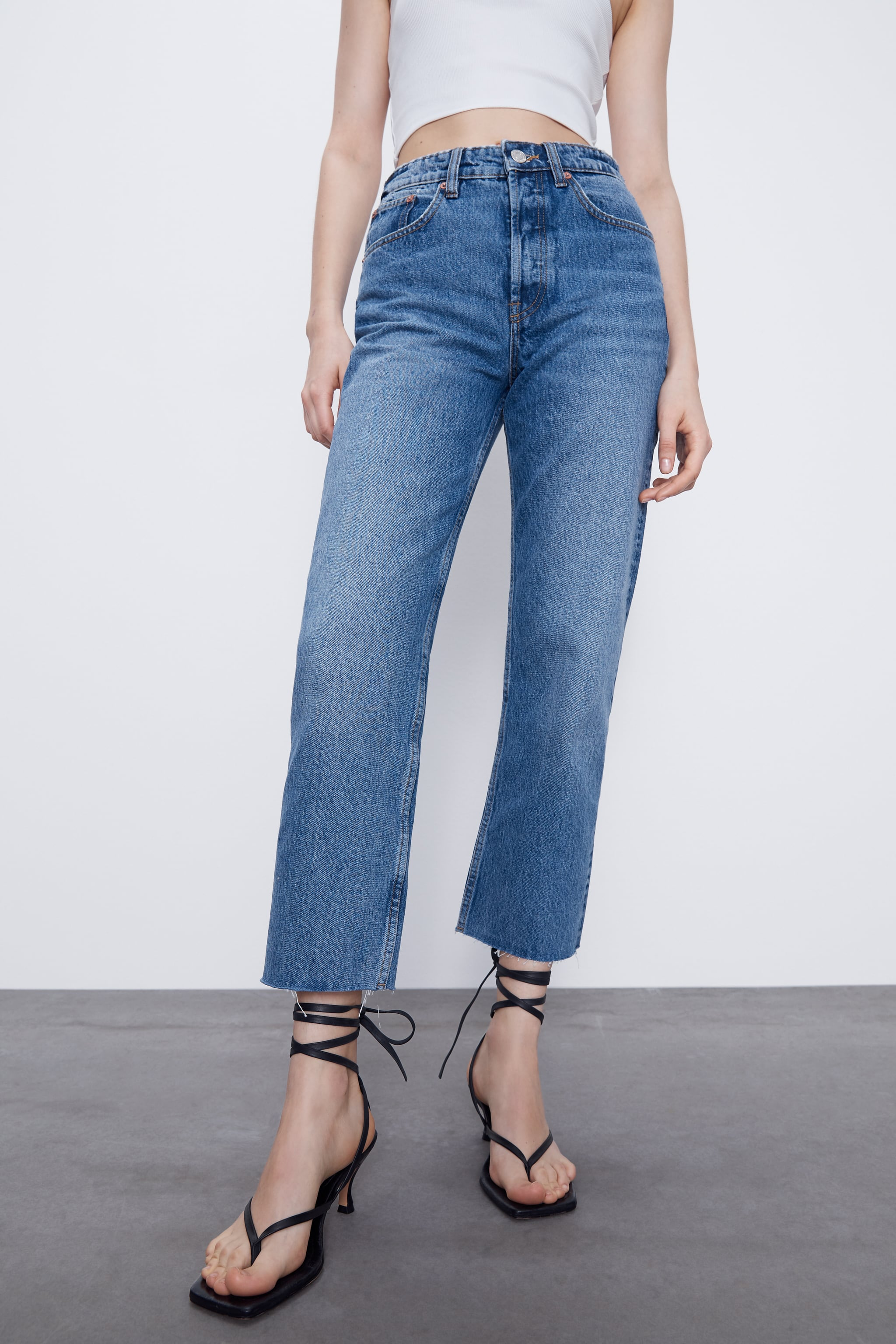 JEANS HI RISE STRAIGHT