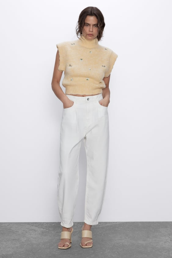 Z1975 AUTHENTIC SLOUCHY JEANS WITH PLEATS