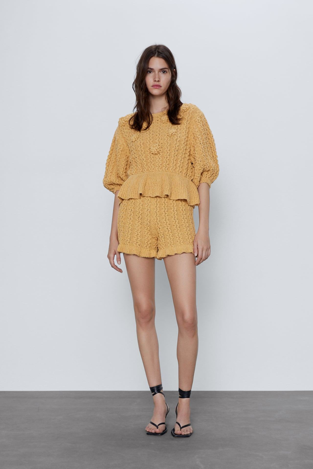Image 1 of TEXTURED SWEATER WITH RAISED DETAIL from Zara