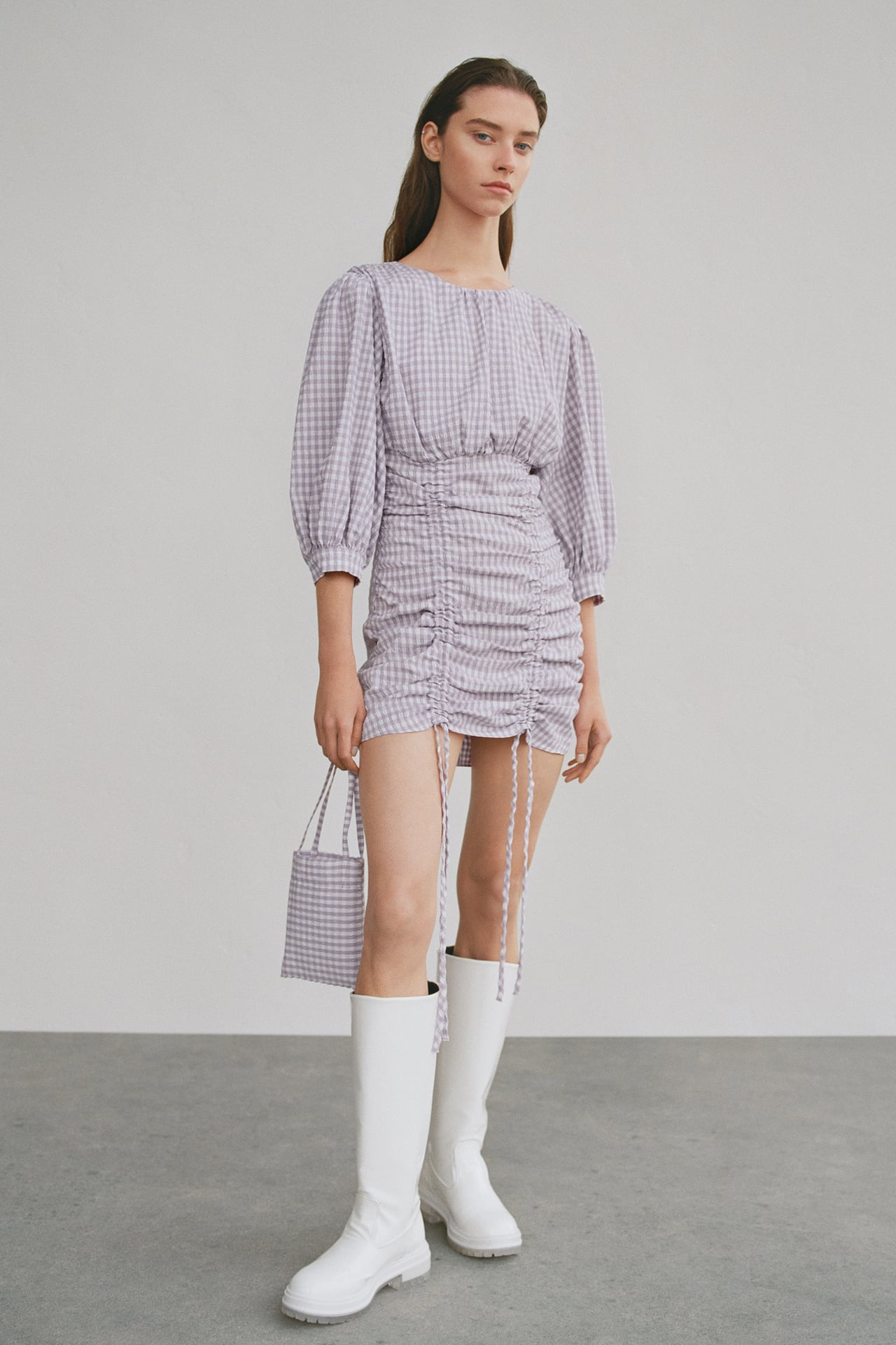 Image 1 of GINGHAM CHECK DRESS from Zadar