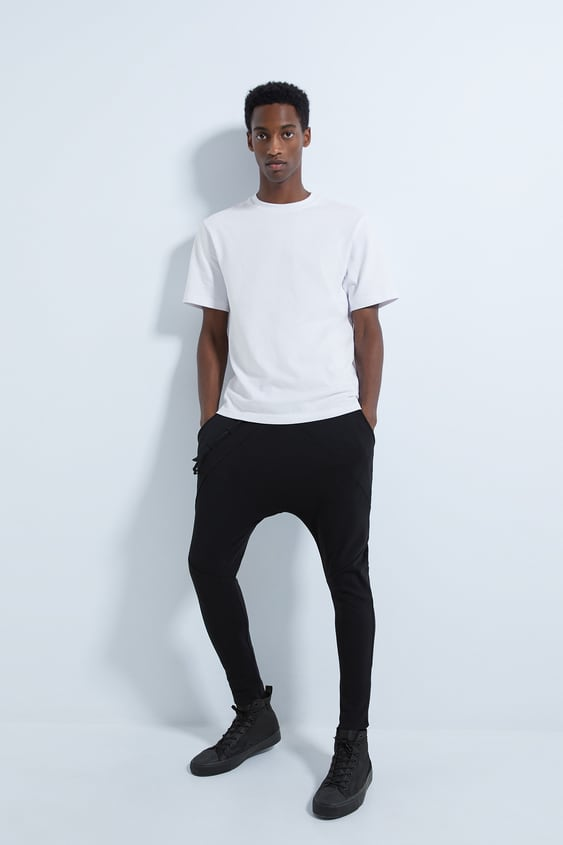 Tapered Jogging Pants by Zara