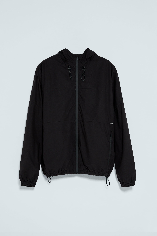 画像 1 の コントラストジッパー付きジャケット ザラから