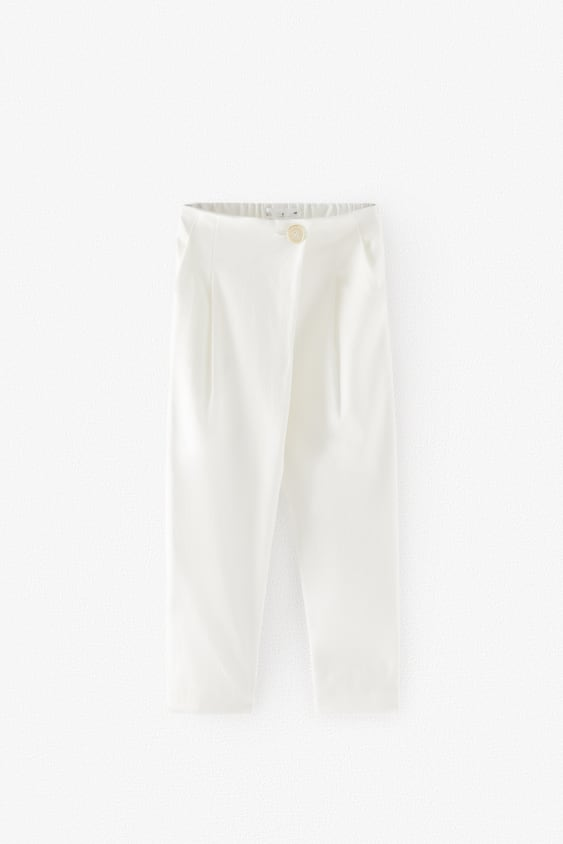 WRAP TROUSERS WITH BUTTON
