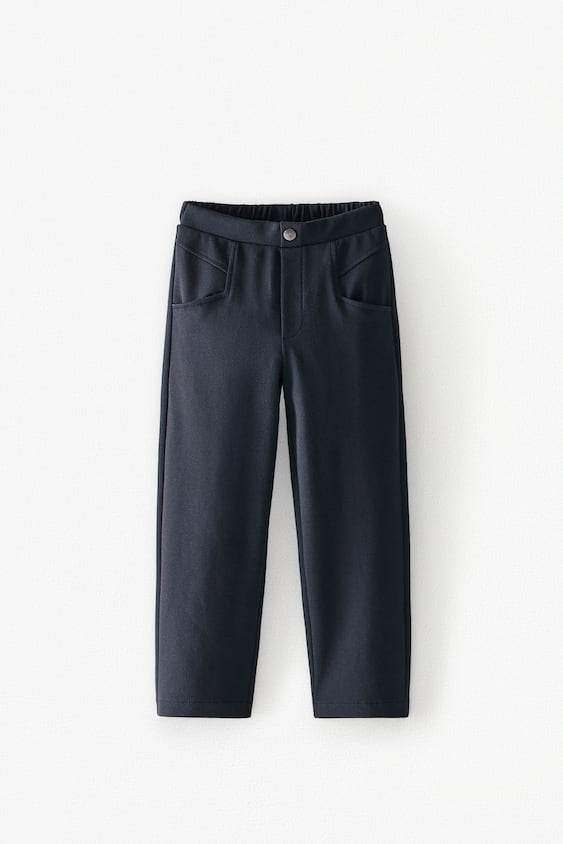 SEAMED TROUSERS