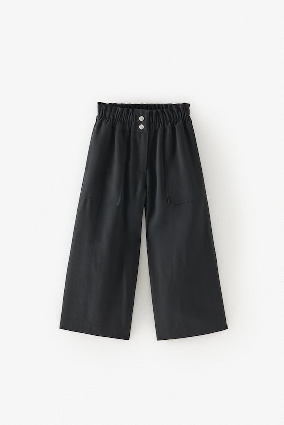 CULOTTES WITH SNAP BUTTONS