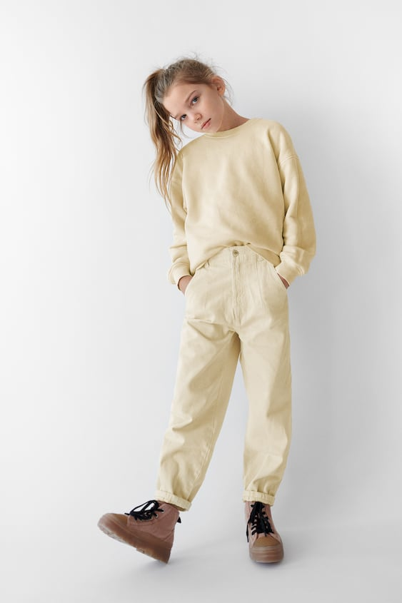 TWILL SLOUCHY JEANS
