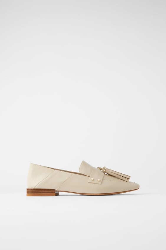 SOFT LEATHER TASSEL LOAFERS