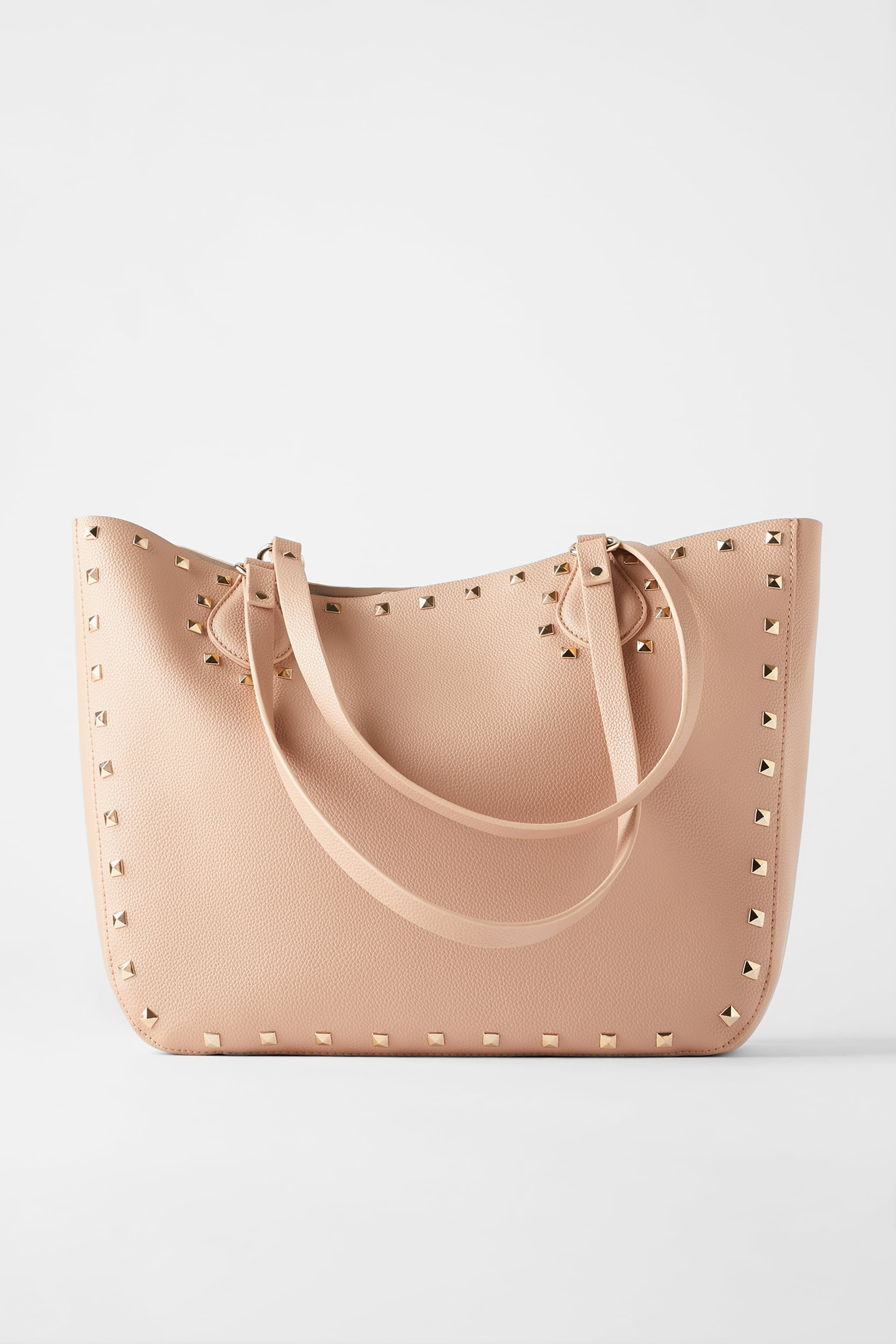 Studded Tote Bag Zara International