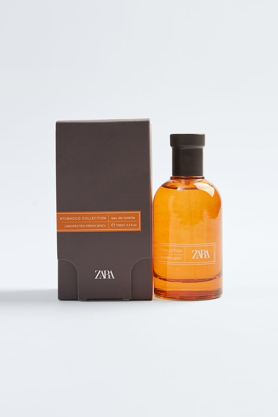 zara #tobacco collection - unexpected fresh spicy