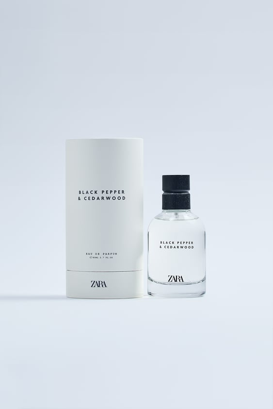 zara black pepper & cedarwood