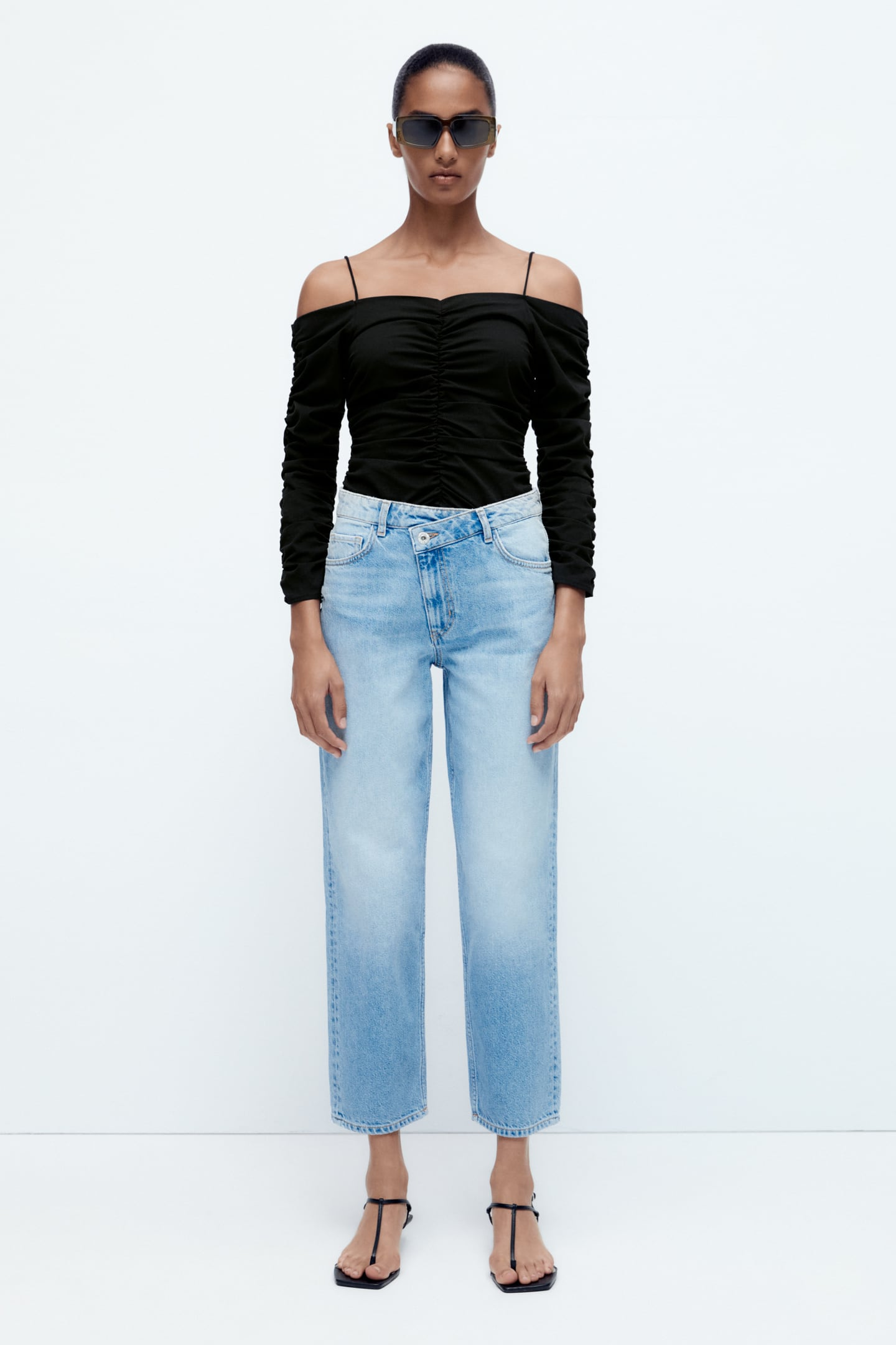 JEANS Z1975 STRAIGHT CROPPED