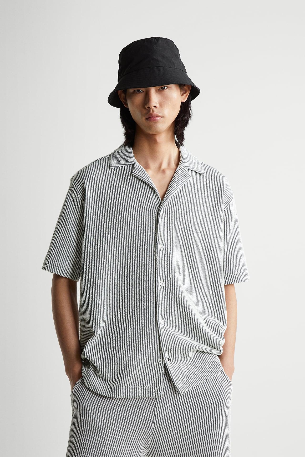 resort shirt textured