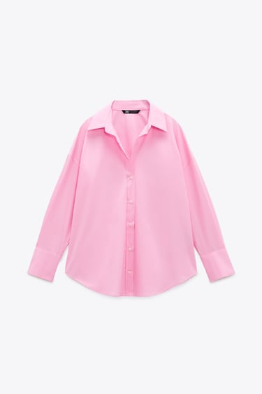 Image 5 of POPLIN SHIRT from Zara