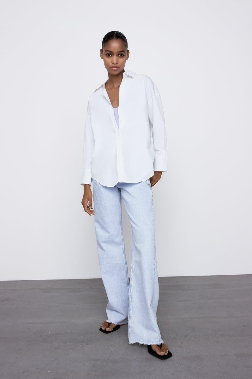 Image 0 of POPLIN SHIRT from Zara