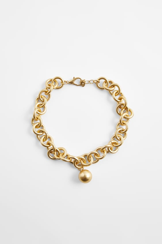 Image 0 of BALL LINK NECKLACE from Zara