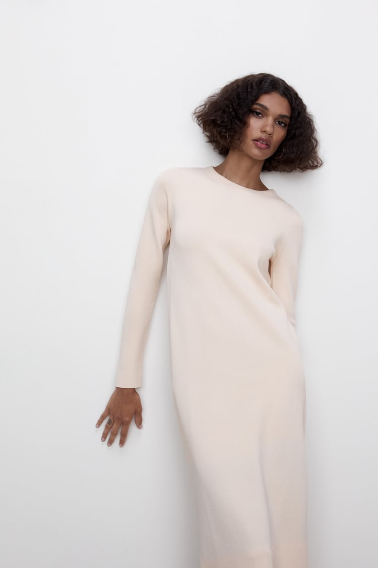 Image 1 of LONG KNIT DRESS - LIMITED EDITION from Zara