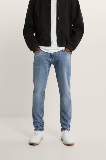 Jeans Slim Fit Hombre Zara Espana