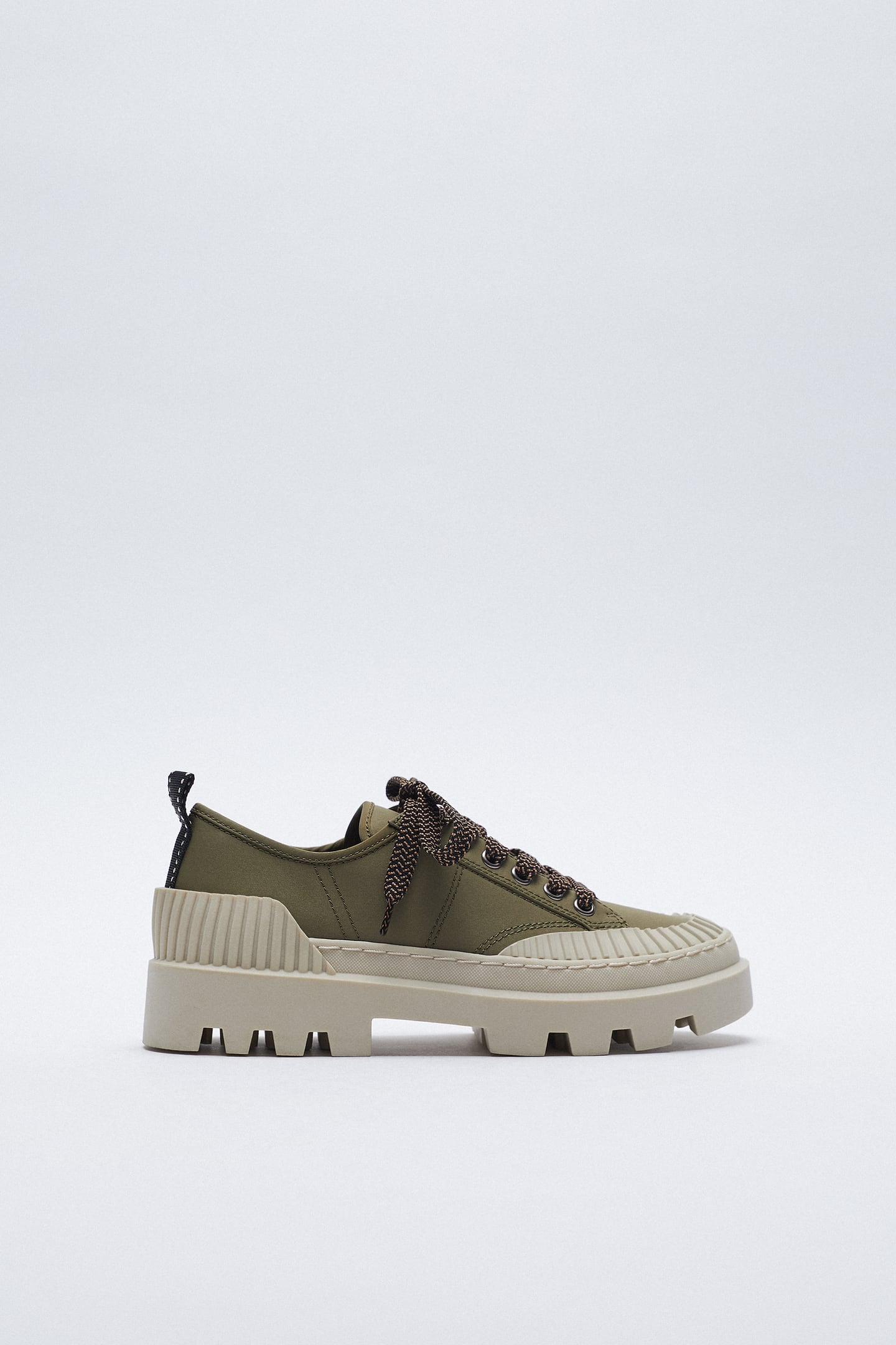 Image 0 of TRAINERS WITH RUBBER TOECAP from Zara