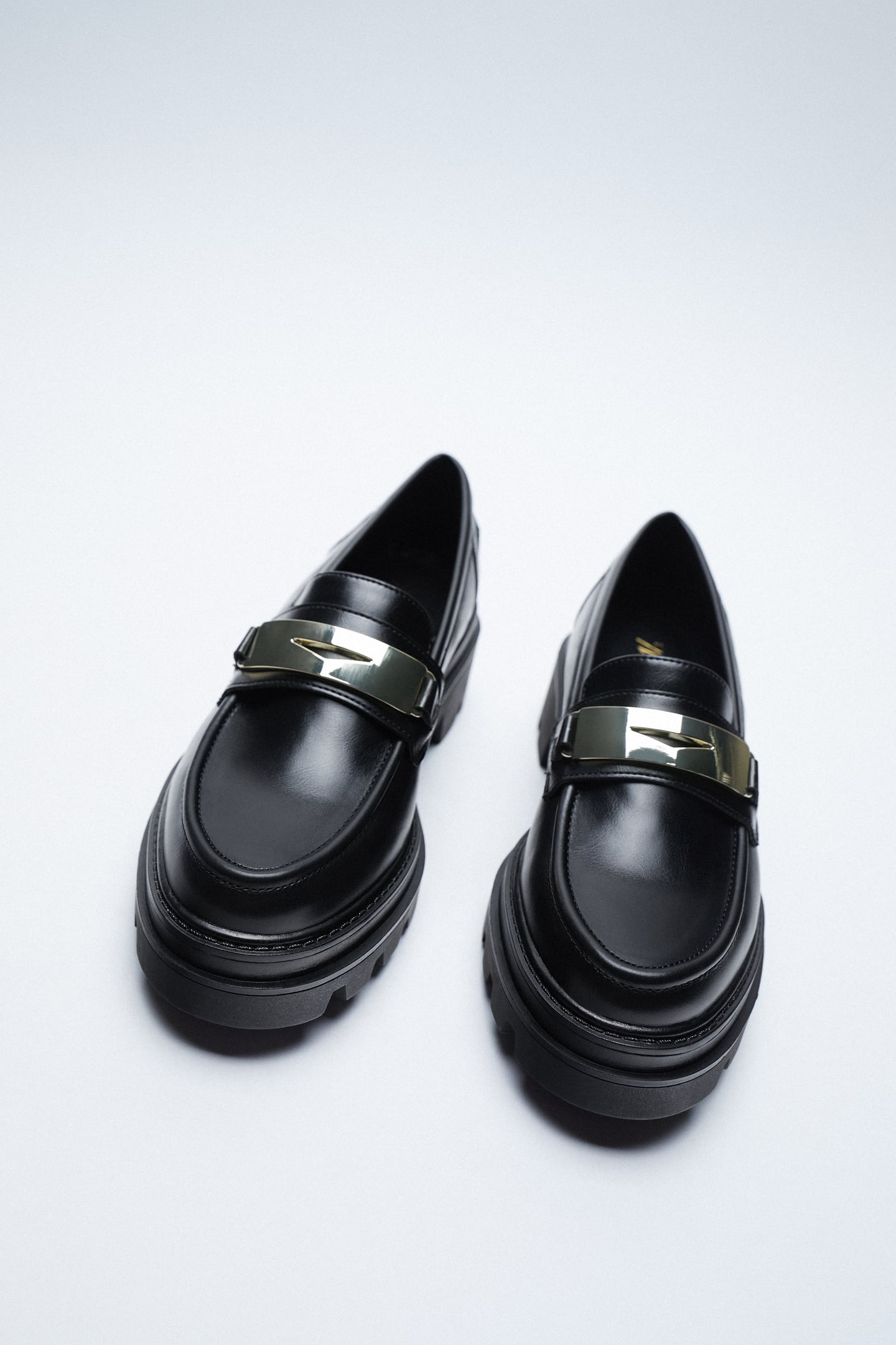 Image 3 of LOAFERS WITH TRACK SOLES from Zara