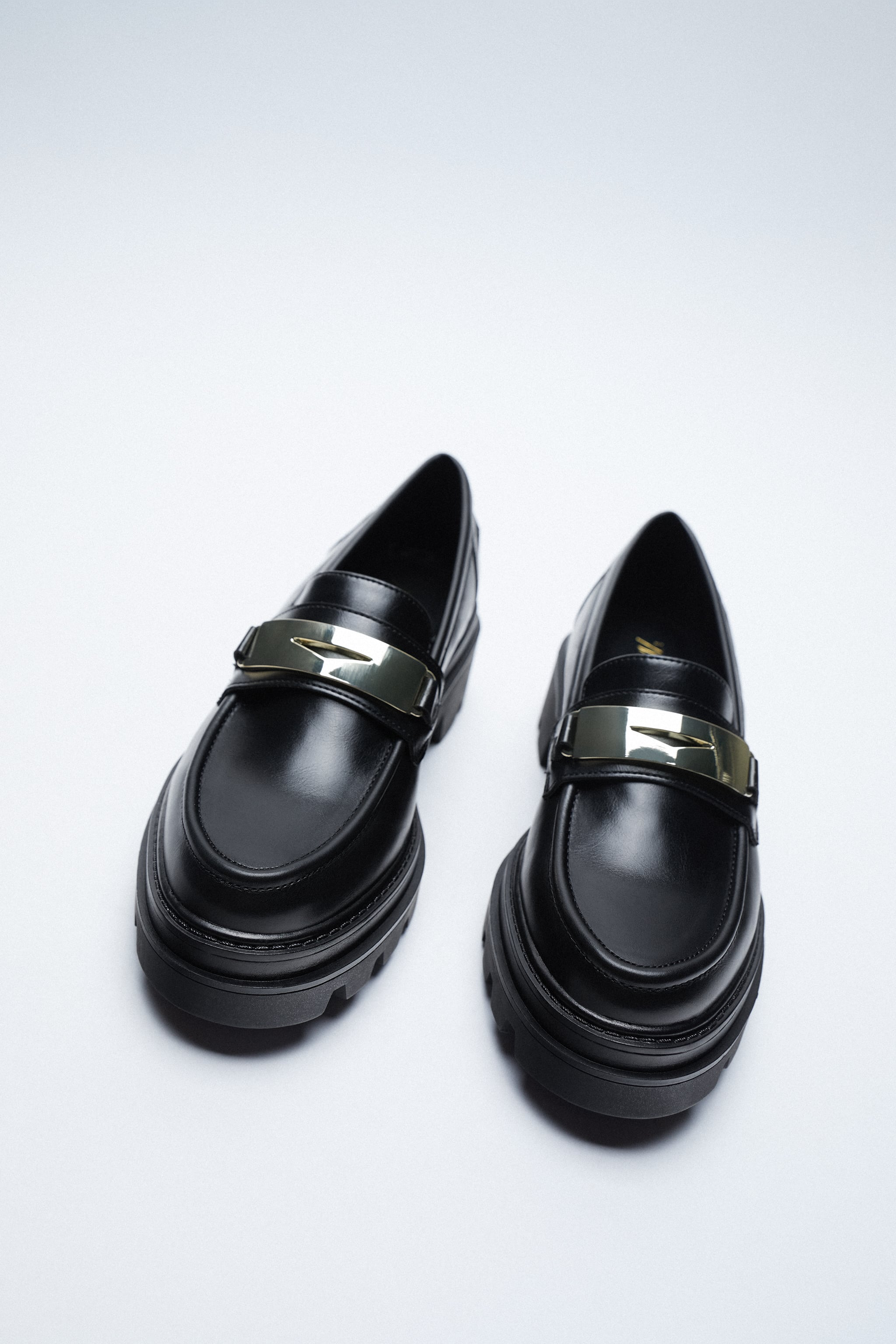 LOAFERS WITH TRACK SOLES zara
