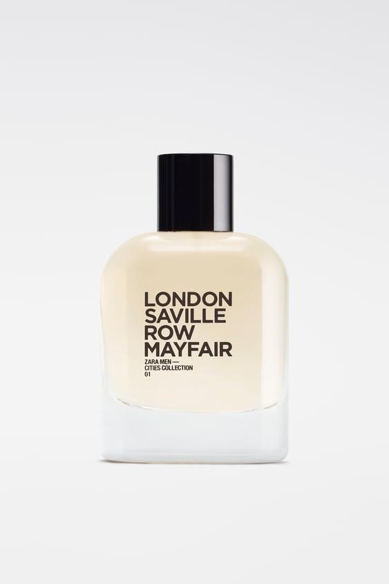 zara zara men — cities collection: 01 london saville row mayfair