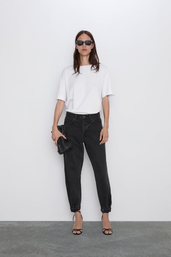 Jeans Z1975 Relaxed Regular Fit Jeans Mulher by Zara