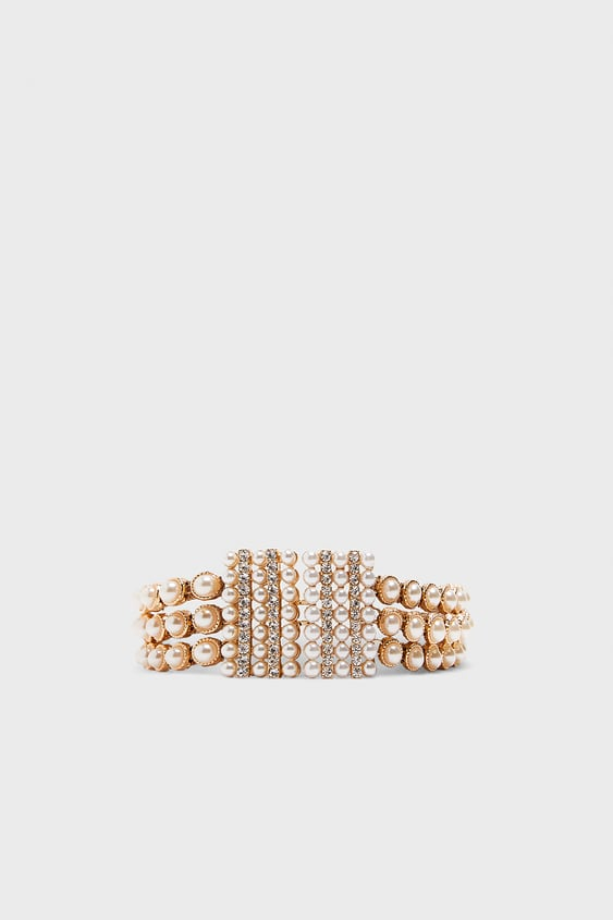 Faux Pearl Belt View All Accessories Woman by Zara