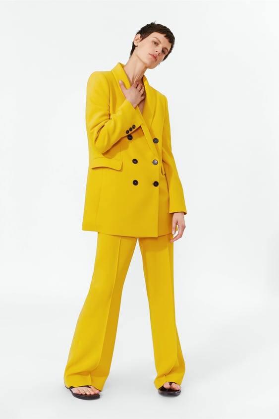672d3d478ee6 Image 1 of FLARED PANTS from Zara