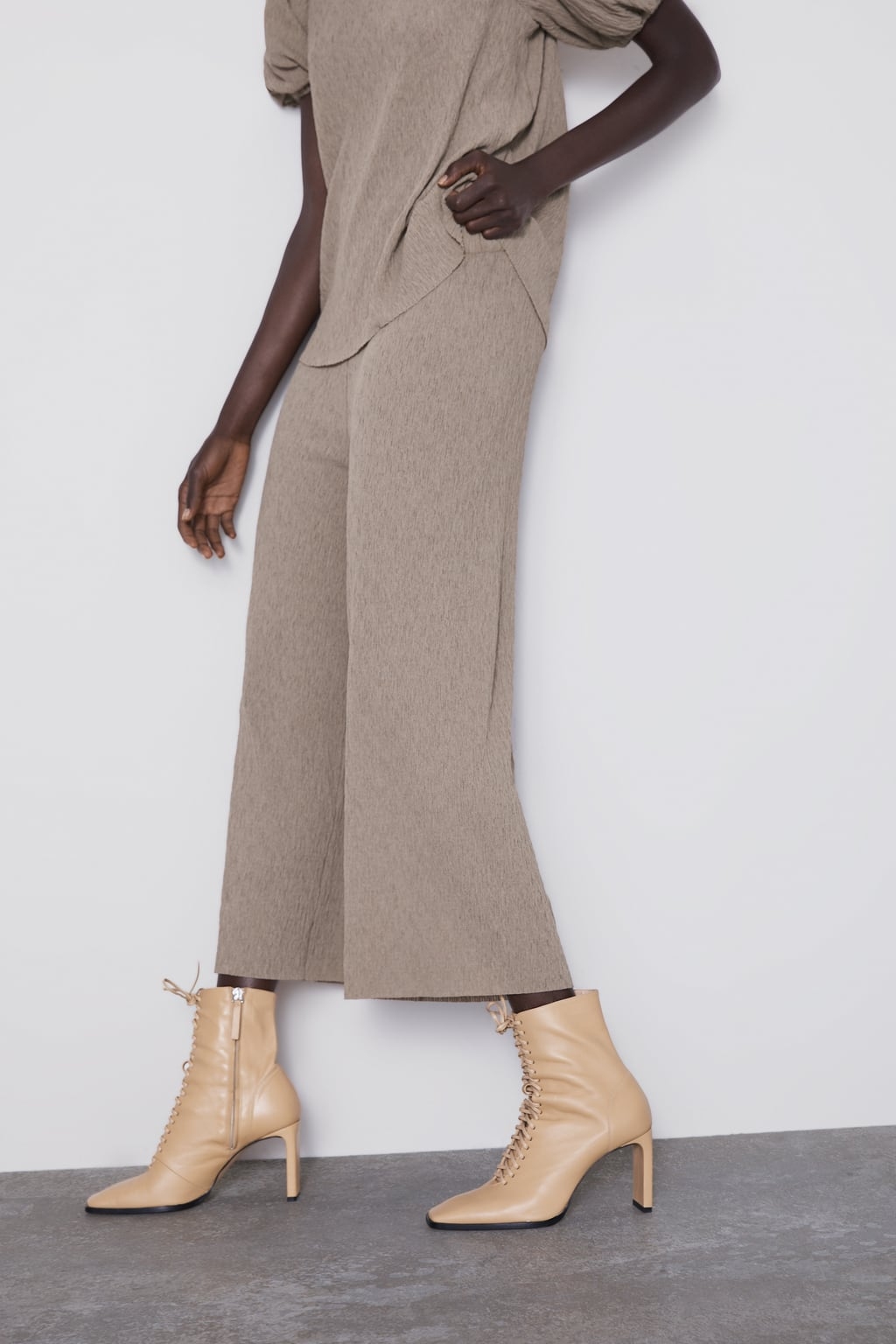b0b0a3f20f Women's Palazzo Trousers | New Collection Online | ZARA Slovakia