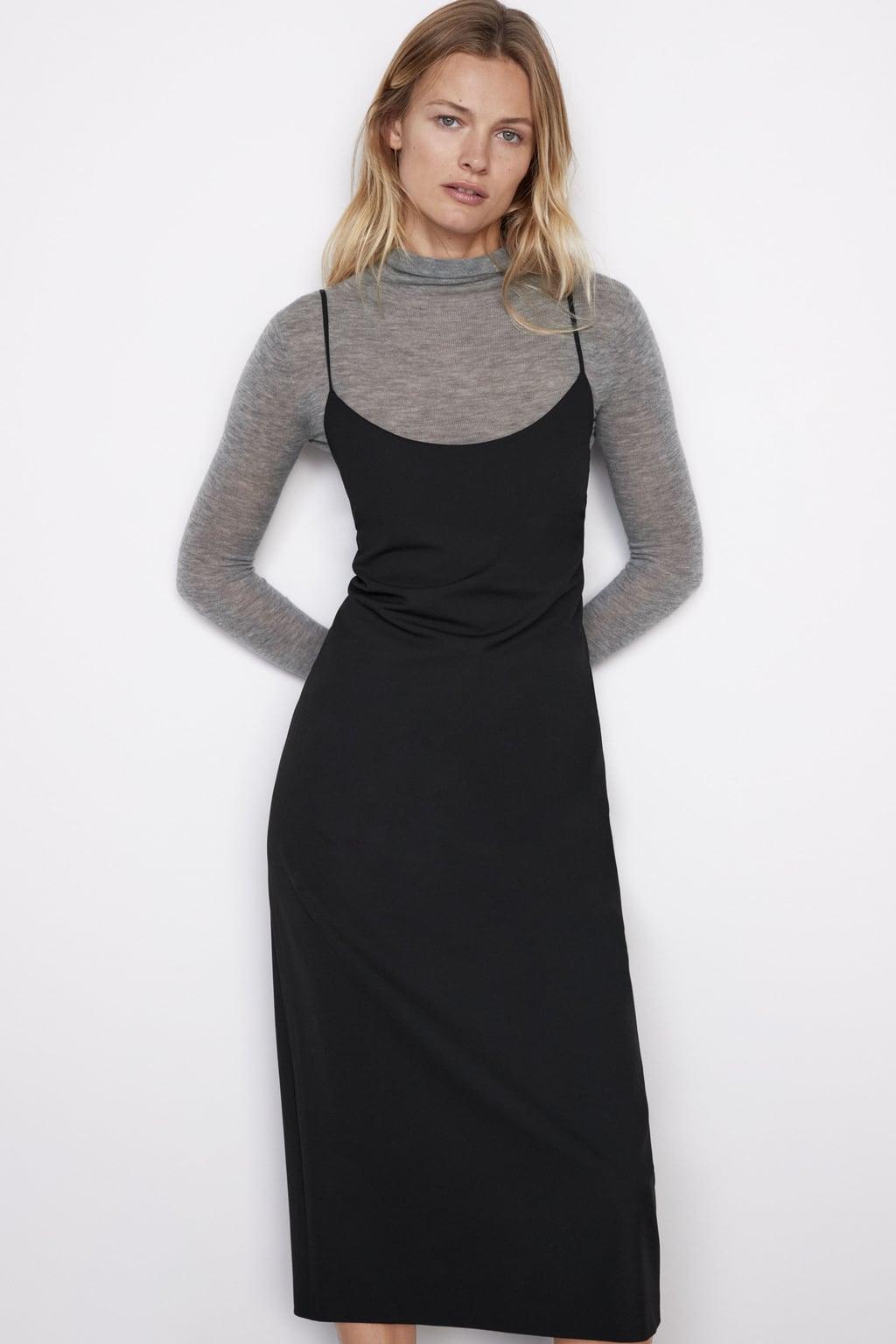 damen kleider in schwarz | online sale | zara schweiz