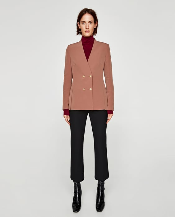 Double Breasted Jacket  Collectionwoman Sale by Zara