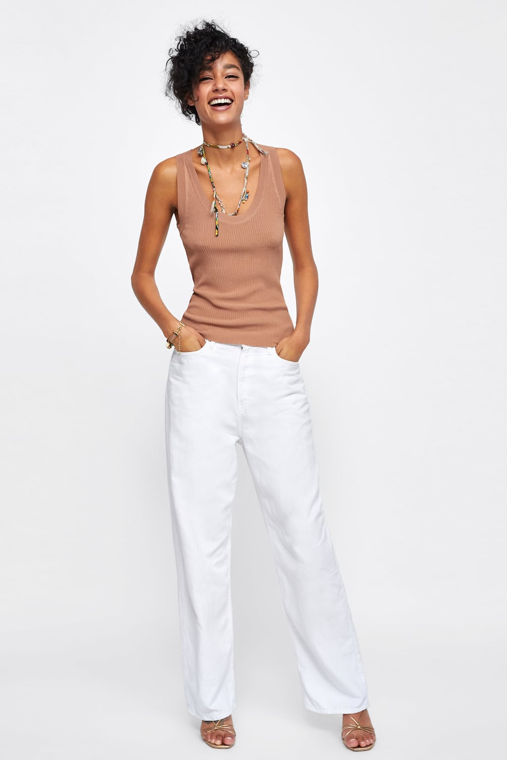 Top Punto Minimal Collection  Topsmujer by Zara